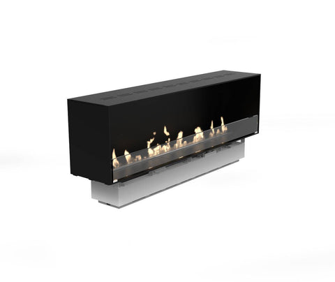 Decoflame Montreal E-Ribbon Recessed Automatic Ethanol Fireplace-Modern Ethanol Fireplaces