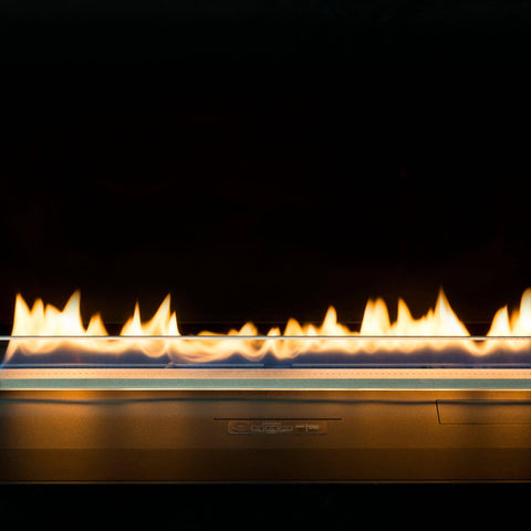 "Planika Ethanol Fireplace Insert 27"" Prime Fire With Remote Control-Modern Ethanol Fireplaces"
