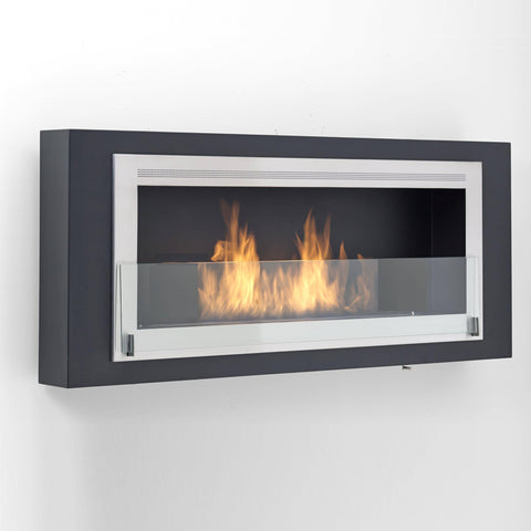 Eco-Feu Santa Lucia Wall Ethanol Fireplace-Modern Ethanol Fireplaces