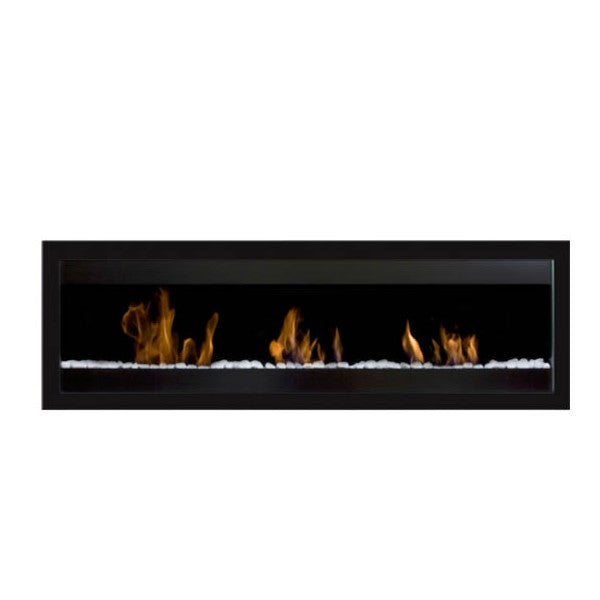 "Bio-Blaze Square XL II BB-SQXL2B 59"" Black Wall Mounted Ethanol Fireplace-Modern Ethanol Fireplaces"
