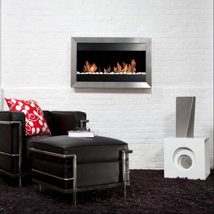 Bio-Blaze Square Small II Ventless Wall Fireplace (BB-SQS2)