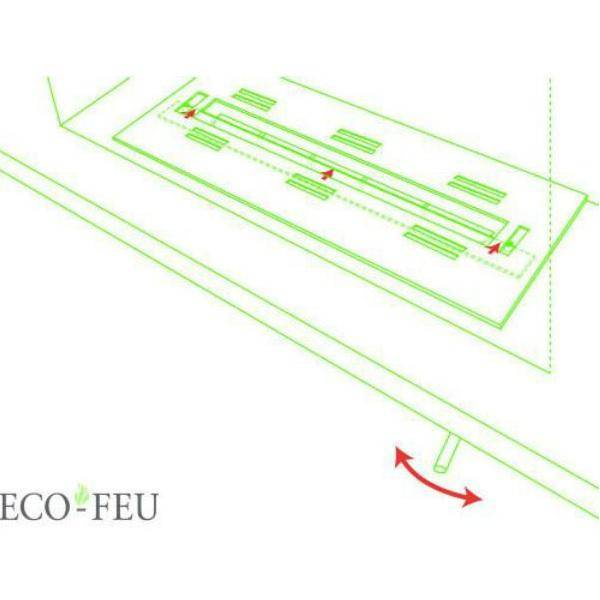 "Eco-Feu Juliette 5"" Black Tabletop Ethanol Fireplace w/ Fuel TT-00101-Modern Ethanol Fireplaces"