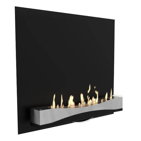 Image of Decoflame Atlantic Wave Wall Fireplace-Modern Ethanol Fireplaces