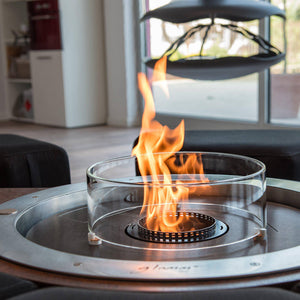 Glammfire Fire Round EVOPlus Automatic Ethanol Fireplace Insert