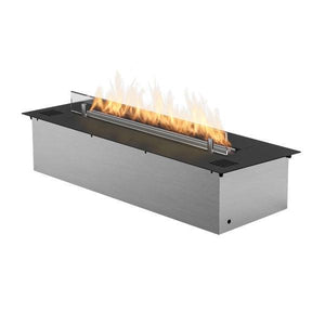 "Planika Prime Fire 27"" Black Ethanol Fireplace Insert-Modern Ethanol Fireplaces"