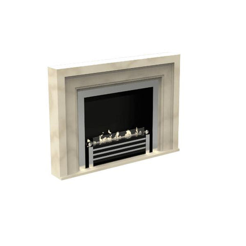 Image of Decoflame Westminster Basic E-Ribbon Automatic Ethanol Fireplace-Modern Ethanol Fireplaces