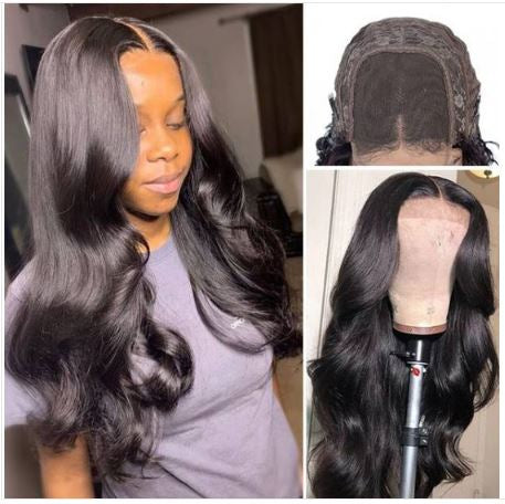 "Nak'd - Ready To Wear 18"" Lace Closure - Glue Free Wig Units"
