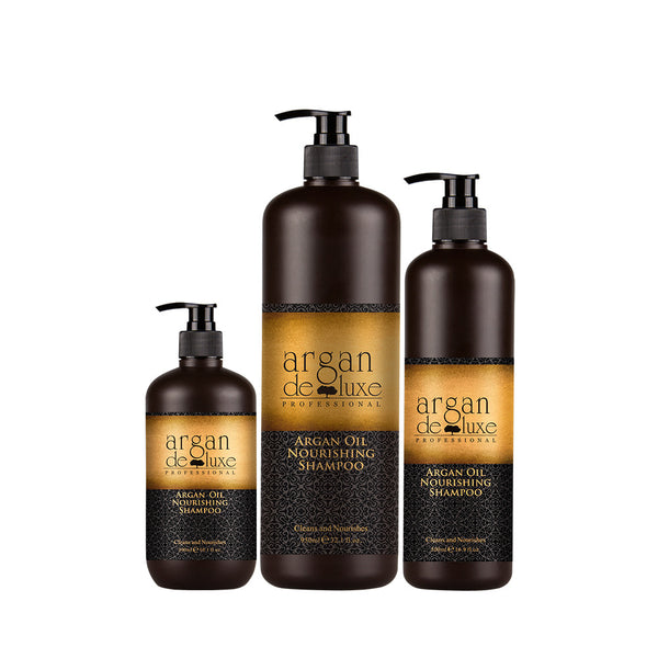 Argan Oil Deluxe - Nourishing Shampoo