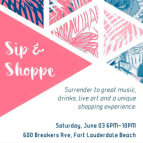 Join me this Saturday for North Beach Village Sip & Shoppe