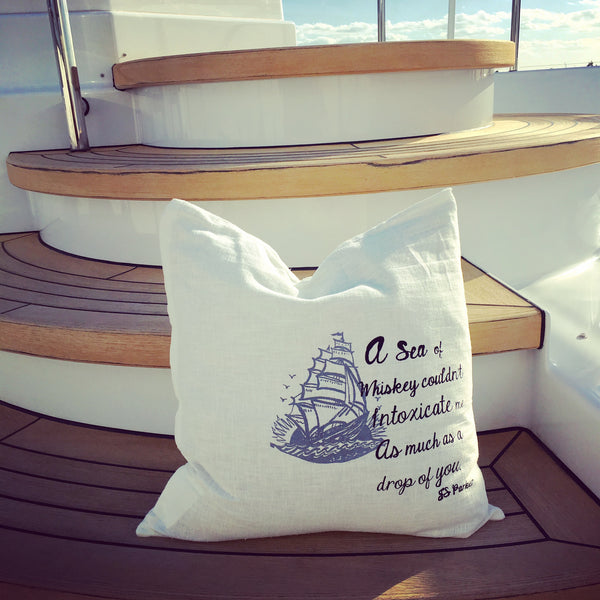Whisky & Tall Ship Pillowcase
