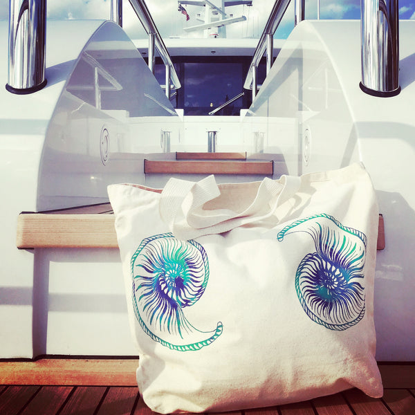 Yacht Beach Tote Large