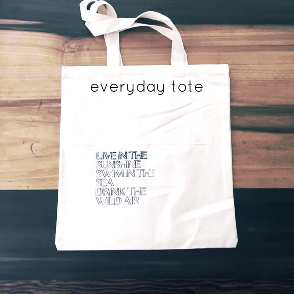 Yacht Nautical Words on Everyday Totes