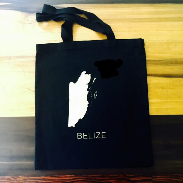 Choose your Map on Everyday Black Tote