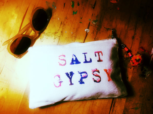 Geometric Salt Gypsy Clutch