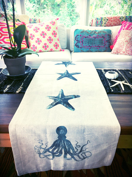 Octo and Starfish Table Runner