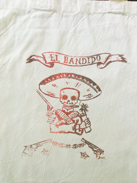 El Bandito Limited Edition cotton tote
