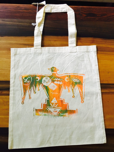 Thunderbird cotton tote