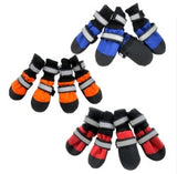 Water repellent dog boots (blue,red,orange) - Dog Shoes And Dog Booties - 3