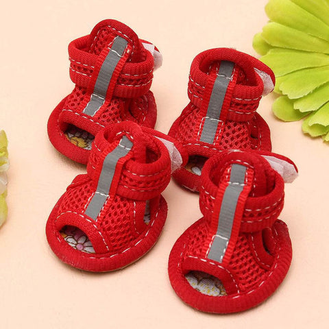 Breathable, Vibrant Summer Sandals for Dogs - Dog Shoes And Dog Booties - 3