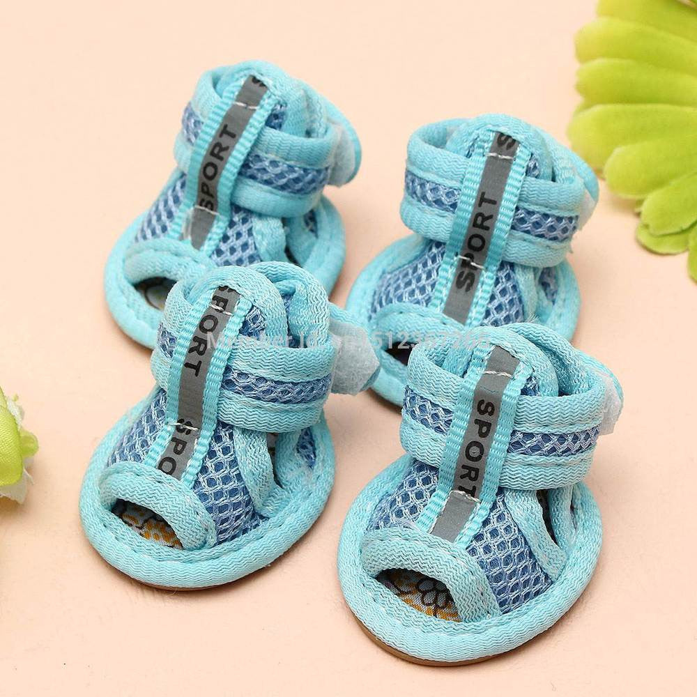 Breathable, Vibrant Summer Sandals for Dogs - Dog Shoes And Dog Booties - 1