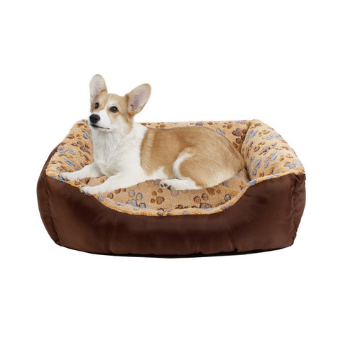 Pet Bed Dog / Cat Soft Kennel Cute Dog House/ Puppy Cushion - Dog Shoes And Dog Booties