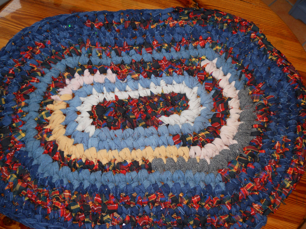 Using Thick/Heavy Materials for Rag Rugs (Blog/Newsletter 12/29/16)