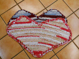 Heart Rag Rug Tutorial
