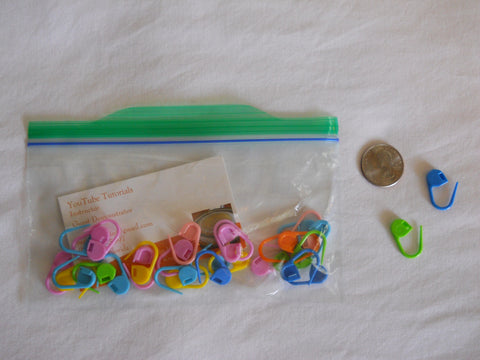 Stitch Markers  (30 Packet)