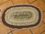 Oval Rag Rug for the Beginner (I recommend this as your first rag rug.)