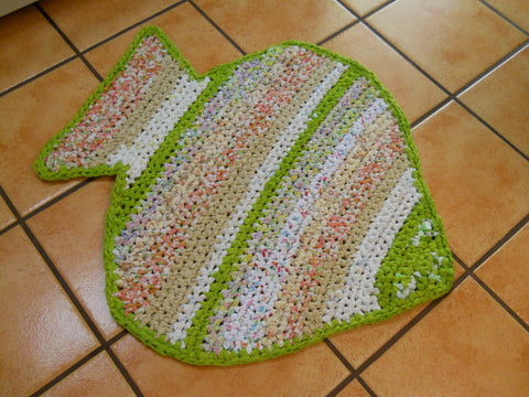 Large Fish Rag Rug (3)