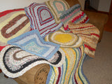 Rag Rug Information and Help Videos (35 videos) designed to help answer rag rug questions