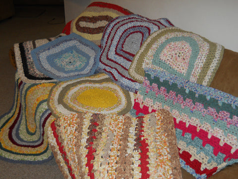Rag Rug Information and Help Videos (40 videos) designed to help answer rag rug questions