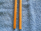 Reclaimed Wooden 9.5 mm Crochet Hook (Almost an N Hook)