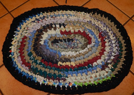 Rag Rug Tutorial Using Everything But The Kitchen Sink Hems
