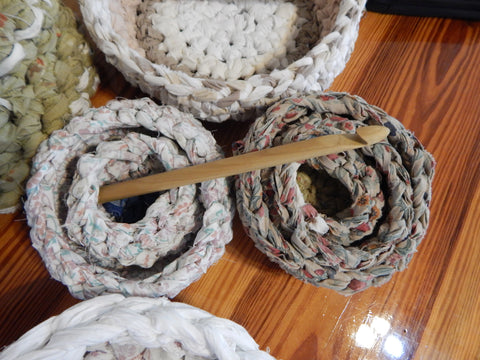 Basket Making Class with Rag Rug  Hook (approximately 3.5 hours)