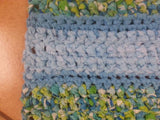 Runner Rag Rug with a Spin Tutorial (Combines Single Crochet and Double Crochet)