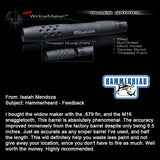 WidowMaker 8 Inch Barrel With Fin and Muzzle
