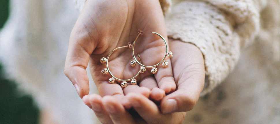 brave & beautiful hoops