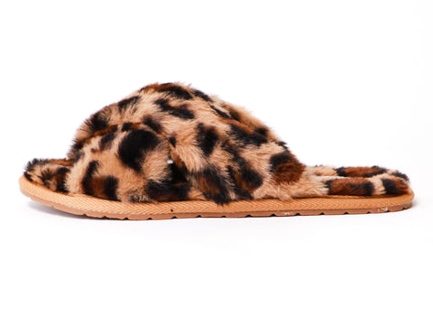 Leopard Fur The Dreamer Slipper