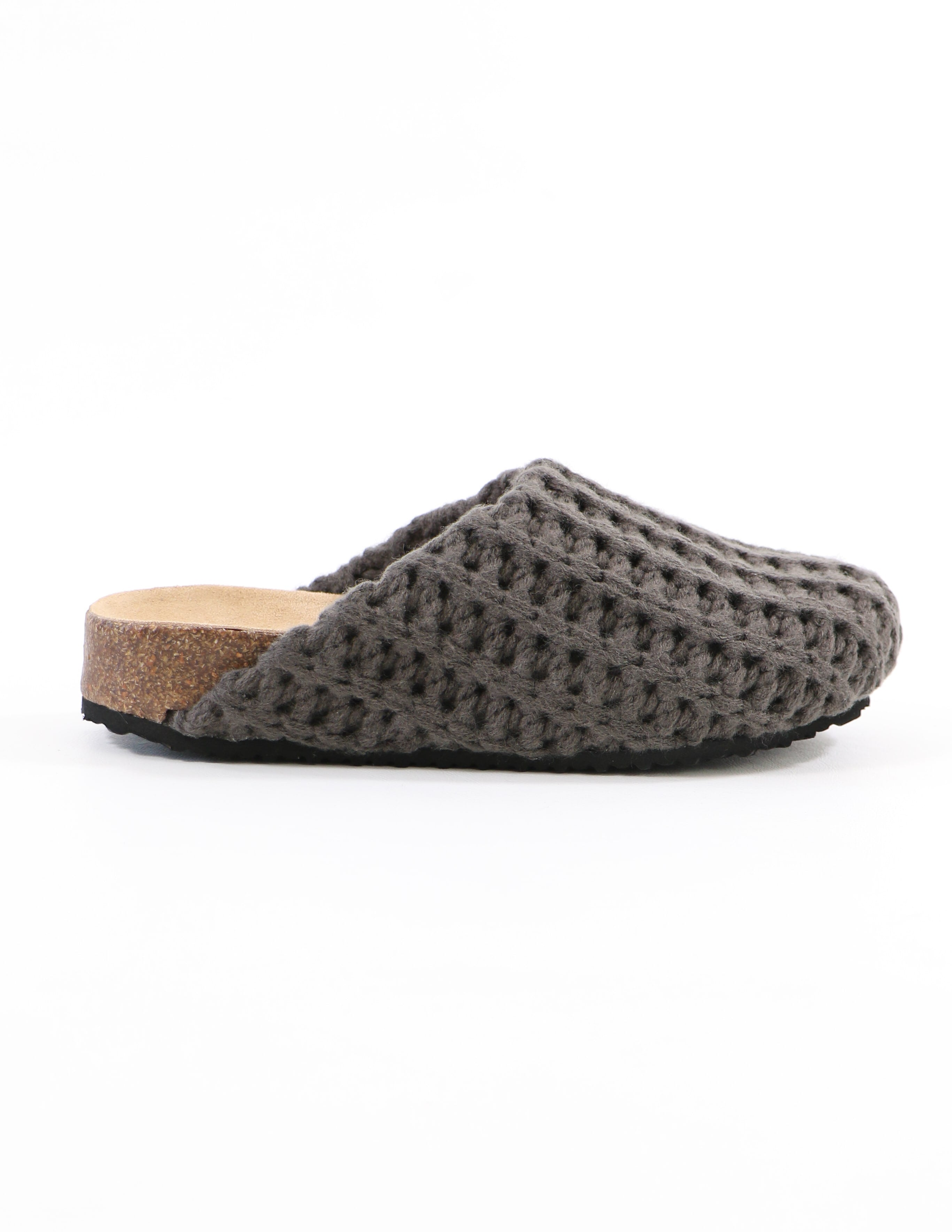steve madden in the knit of time grey clog