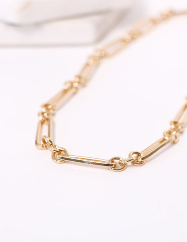 BARRE NECKLACE - Gold