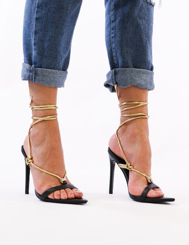 MIA She's A Natural Heel - Raffia