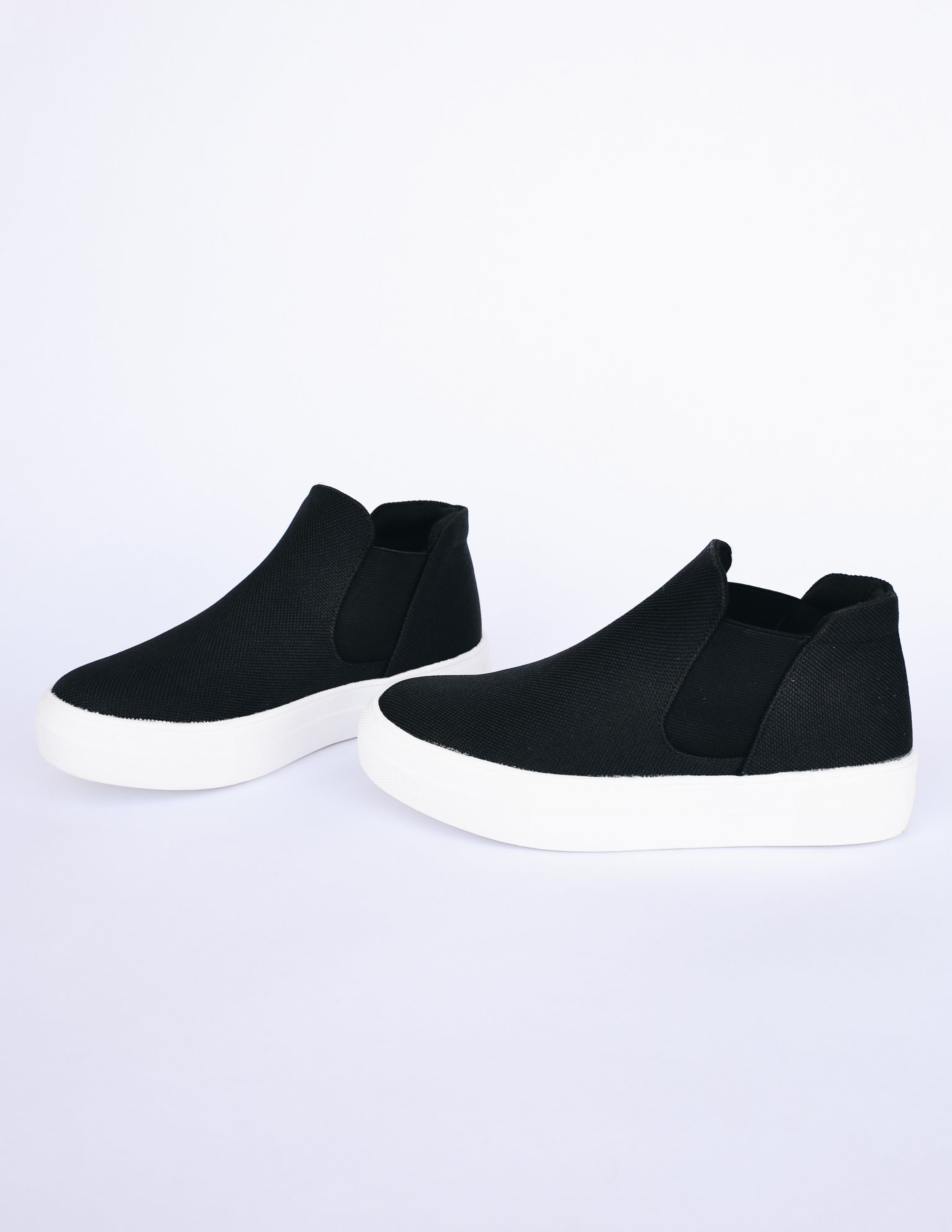 NOW OR NEVER SNEAKER - Black - Elle Bleu Shoe Boutique