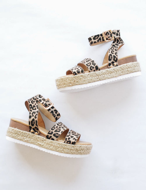 SENSATIONAL - Cheetah - Elle Bleu Shoe Boutique