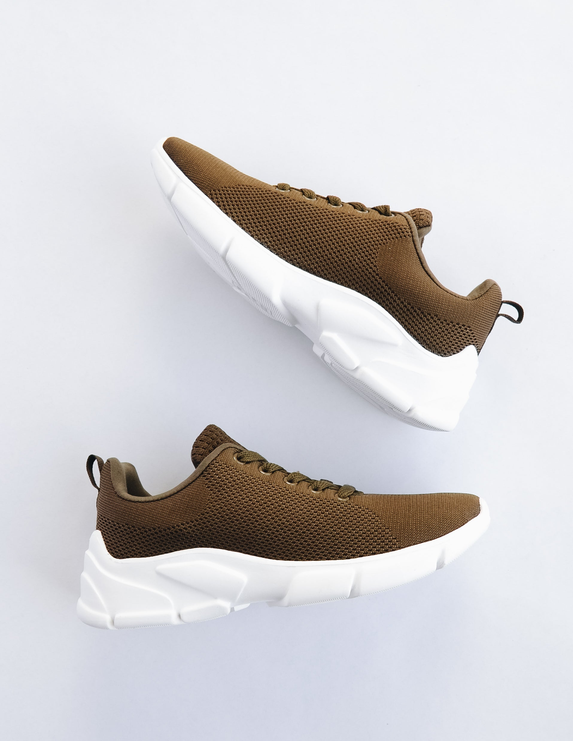FAME GAME SNEAKER - Khaki - Elle Bleu Shoe Boutique