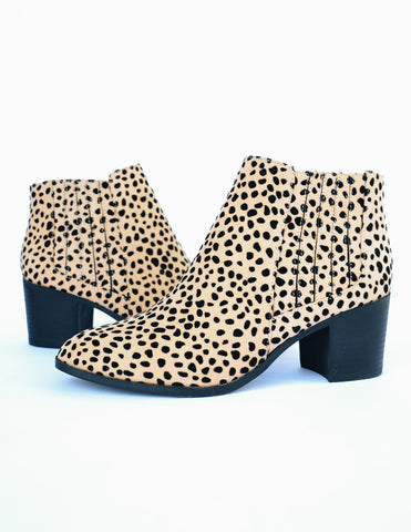 BOMBSHELL BOOTIE - Brown