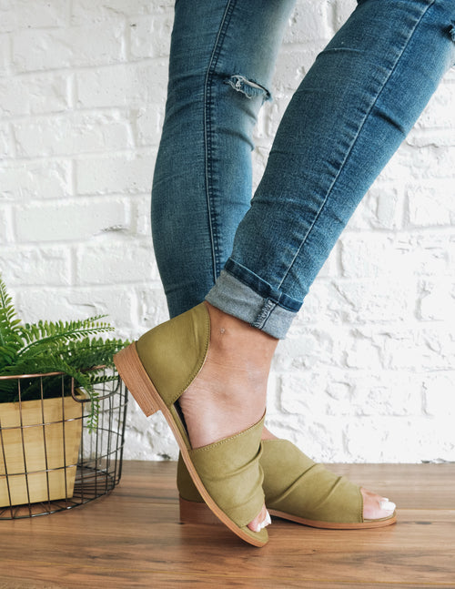 RILEY - Khaki - Elle Bleu Shoe Boutique