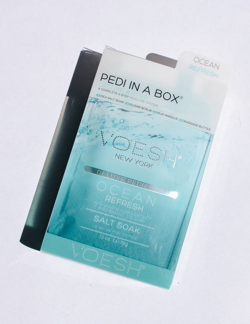 Ocean refresh pedi in a box - elle bleu