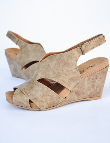 MAKE THE CUT HEEL - Toffee