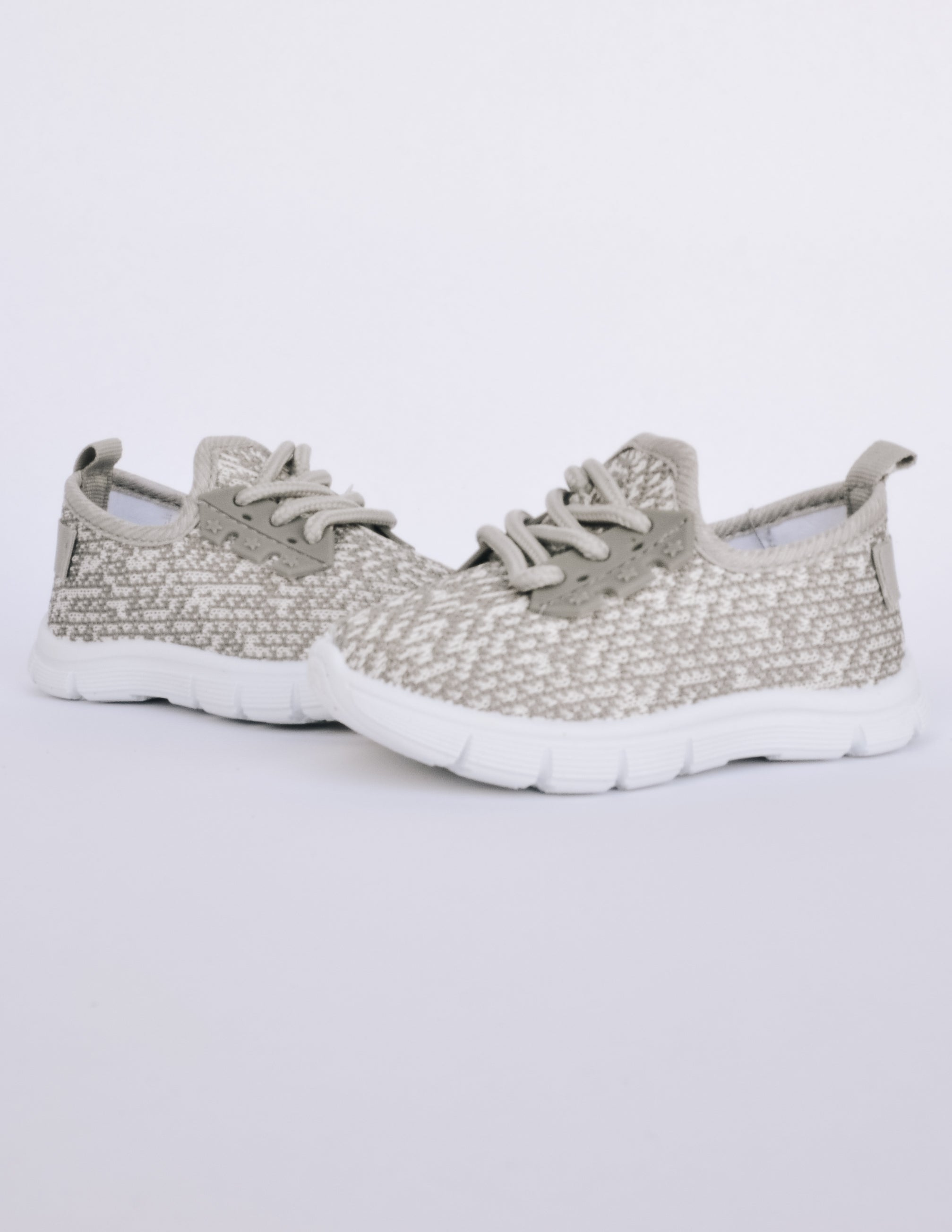 LIL DREAMER TODDLER SNEAKER - GREY - Elle Bleu Shoe Boutique